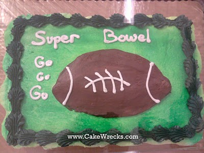 Image result for football cake wreck